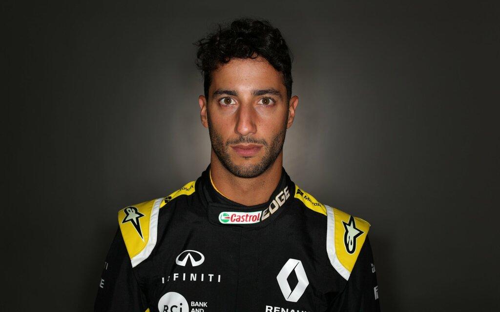 Bil Magasinet Formel 1 Daniel tog første tur