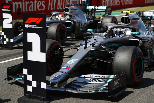 Spaniens Grand Prix 2019. Valtteri Bottas tager pole position i kvalifikationen