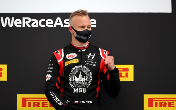 Nikita Mazepin kører for Haas F1 i 2021